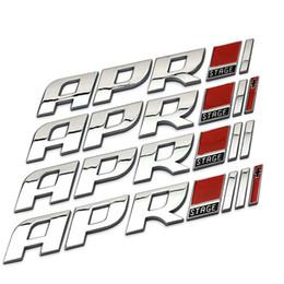calcomanías de golf Rebajas Emblema del lado del coche Calcomanía para APR Logo Para Volkswagen Golf R Audi TTS Retrofit Etapa Original Auto Cuerpo Etiqueta Automóvil Estilo