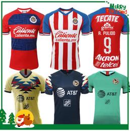 2019 camisetas de club america 2019 CHIVAS Guadalajara club copa del mundo LIGA MX Club América UNAM fútbol Jersey Club de Cuervos 19 20 fútbol camisetas de club america baratos