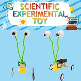 kits de trenes de juguete Rebajas Robot modelo de reptil Kits DIY Ciencia Experimento Juguetes para Niños Creativo Formación Científica Física Juguete Educativo Regalo