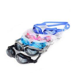 Argentina Gafas de natación caliente hombres mujeres nuevo estilo impermeable antivaho gafas de lentes anti-uv lloviendo accesorios con hebilla nasal cheap rain lens Suministro