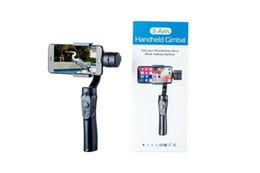 Smartphone do telefone da porcelana on-line-3-Axis Handheld Bluetooth Camera Steadicam Gimbal estabilizador para iPhone Móvel Celular Celular Smartphone selfie
