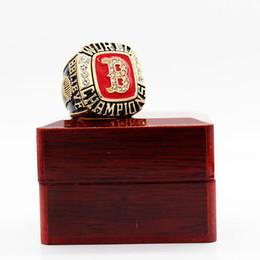 2019 bague en plastique en chine Boîte de présentation des anneaux du championnat red-sox 2004 pour hommes et fans