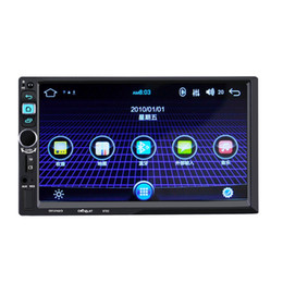 built car dvd stereo player Promo Codes - 8702 Car Stereo MP5 Player 7 inch Touch Screen 2 Din In-dash Bluetooth Audio Multimedia System car dvd