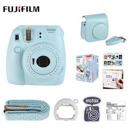 a907defa9f305 película de instax cámara Rebajas Cámara fotográfica instantánea de 5  colores Instax Mini 9 + Cámara