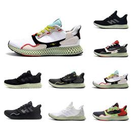 Kül Yeşil Hender Şeması Mens ZX 4000 Futurecraft 4D Koşu Ayakkabıları Eğitmenler Erkekler için ZX4000 Karbon Erkek Spor Eğitmeni Sneakers 40-45 nereden