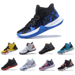 huge discount 3bb01 97de6 New Arrival Irving Limited 5 Duke Men Basketball Shoes Concepts Black Magic  for Kyrie 5s PE Chaussures Mens Trainers Designer Sneakers 7-12