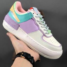 nike air force 1 corso d uovo di Pasqua scarpe skateboard Colorate rosa bianco blu Moda Top piattaforma di qualità Sneakers casual formato 36 40