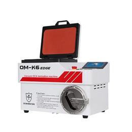 Oca film samsung online-Máquina laminadora automática OM-K6 Edge OCA Master Vacuum para iPhone para Samsung LCD OCA Polarizer Film Laminating