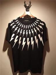 Argentina 2019 Verano Nueva moda para hombre T Shirt Lightning carácter impresión parejas camiseta para hombre ropa Casual para hombre manga corta Suministro