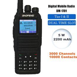 icom uhf radios Rabatt Baofeng Zwei-Wege-Radio DM-1701 Digital Mobile Radio Hand Tier 2 Dual Time Slot DMR Walkie Talkie Amateur