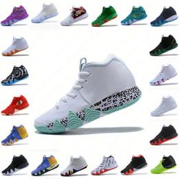 5a116754262d3e Mens KII 4 IV Scarpe da basket Vendita calda Designer Confetti BHM EQUALITY  All-Star March Madness City Guardians London Mamba Sneakers Kyrie Irving 4  40-46 ...