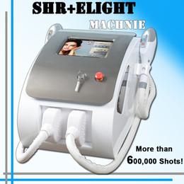 cabelo no mercado Desconto 2019 melhor OPTAR a máquina da remoção do cabelo de SHR Elight o laser do IPL da máquina do rejuvenescimento da pele quente no mercado