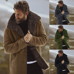 Argentina Los hombres de invierno polar forrado capa de la manera caliente grueso abrigo de lana masculino mezcla de lana Hombres Marca Escudo Plus Ropa Suministro