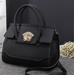 Bolso de cuero de china online-Famosos bolsos de diseño Medusa Head Handbags Cross Body Bag Fashion Women Messenger Bag Leather Shoulder Bags