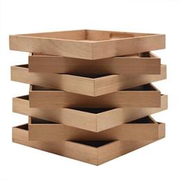 humidor zubehör Rabatt Zedernholz Humidor Tray Zubehör 5Pcs Massivholz-Behälter für Zigarrenschachtel-Humidor Zubehör Funktionen