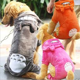 9XL grand chien vêtements golden retriever quatre jambes jambes totoro changer pour emballer manteau chaud pour chien hiver chien Hoody Buttonbow Pet Puppy Jacket vêtements ? partir de fabricateur