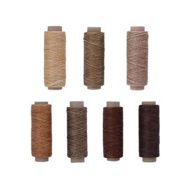 Flachgewachste Thread150D 50 Mt Wachsschnur Schnur Nähen Handwerk Werkzeug Tragbare DIY Handwerk Lederprodukte Zur Herstellung Von Taschen von Fabrikanten