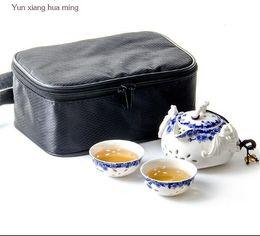 1 conjunto de Estilo Chinês Delicado Pequeno Kung Fu Xícara de Chá de Porcelana Tigela de Chá Pintados À Mão Copos De Água de Cerâmica Artesanato D048 de
