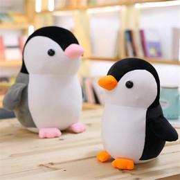 Peluche roba animale online-25CM Cute Penguin Peluche Giocattoli Sea Animal Doll Small Peluche Doll Regali per bambini Decorazione Regali Penguin Peluche