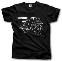MZ T-shirt S-XXXL Kult Motorrad Moto Oldtimer Vintage Style Allemagne DDR Coton T-Shirt De Mode T-shirt Livraison Gratuite ? partir de fabricateur