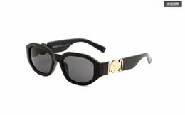 óculos de cor de crânio Desconto Óculos de sol de Luxo vvv Marca homens mulheres óculos de sol armação de metal removível fivela de couro Medusa óculos do vintage4361