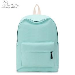 2019 mochilas de lona simples 2018 Canvas Planície Estilo Japão Minimalismo Melhor Mochila Para Adolescente Menina Feminina Nova Viagem Lazer Mulheres Mochila Bolsa de Ombro desconto mochilas de lona simples