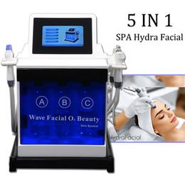 Microdermoabrasion de cristal de diamante online-Hydra facial machine piel limpieza profunda hydra crystal diamond microdermabrasion blanqueamiento de la piel máquina de oxígeno para la cara