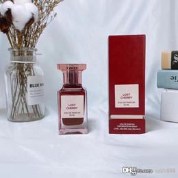 2020 donne profumate di bottiglia rossa High-End di profumo per la bottiglia di donne Chypre Fruttato 50ml EDP Perso Cheery Vetro Fabulous Red Long Lasting della stessa marca donne profumate di bottiglia rossa economici