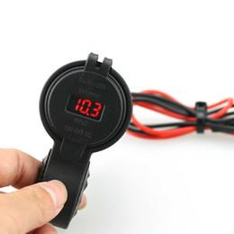12v usb mount Скидка Водонепроницаемый 12 В Dual USB Зарядное Устройство Мотоцикла Разъем Порт Вольтметр Мотоцикл Руль Зарядное Устройство 5V4.2A