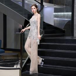 Vestidos de noche de kaftan sin mangas online-2020 vestidos de noche de la celebridad elegante del vestido de partido del mono de baile formal de la tarde Dubai mangas verdadero de los cuadros Abaya Kaftan Kleider