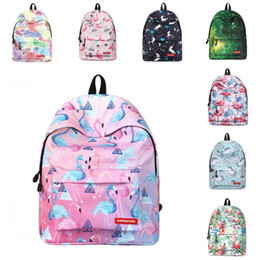 mochilas de panda Rebajas 2019 16 estilos Moda Unicornio Flamingo Butterfly Panda Mochila Niñas Niños Mochilas de dibujos animados Bolsas escolares para estudiantes Bolsa de viaje para niños M327F