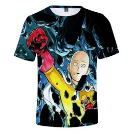 superman prints Promo Codes - One Punch Man Season 2 A Punch Superman Second Season Leisure Time 3d Short Sleeve T Pity Youth Children's Garment