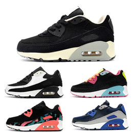 d6baf3ff0460e8 Baby Kids Run Shoes Air Tavas Running Shoes 87 90 95 Children Athletic Shoes  Boys Girls Beluga 2.0 Sneakers Black Red size 28-35 air 95 on sale