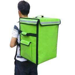 Argentina 69L pizza comida para llevar bolsa con aislamiento grande bolsa de hielo bolsas de hielo de doble hombro refrigerador congelador mochila impermeable maleta paquete caja de picnic cheap freezer boxes Suministro