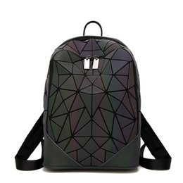 Zaini luminosi glassati stile giapponese gradatamente diamante a forma di splicing zaino nuova moda femminile baochao college supplier japanese style backpacks da zaini in stile giapponese fornitori