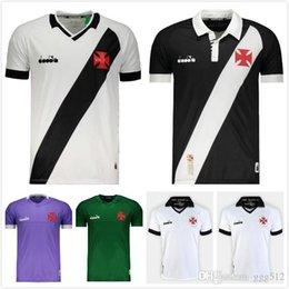 camisas de rugby da faculdade Desconto 19/20 Vasco Da Gama Soccer Jersey 2019 Início Preto 11 MAXI da camisa do futebol Longe A. RIOS PAULINHO Vasco Da GamaFootball uniforme