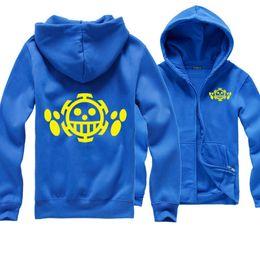 Uma parte lei hoodie on-line-One Piece Hoodie Trafalgar Lei Camisola Das Mulheres Dos Homens Kid