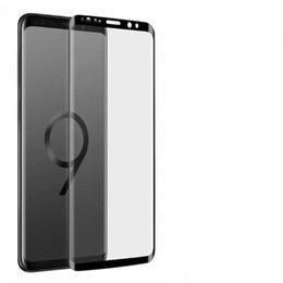 S6 protezione a schermo temperato online-2019 Custodia in vetro temperato a caldo per Samsung Note 9 8 S9 S8 Plus S7 S6 Pellicola protettiva per schermo protettiva di vetro su Galaxy Not 8s 9s 7s S 9 8 7 6