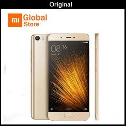 Goophone original online-Original Xiaomi Mi5 Snapdragon 820 5.15 pulgadas 16.0MP 4G LTE Quad Core 32 GB ROM ID de huella digital Smartphone VS goophone s8 goophone s9