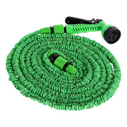 water garden pipe spray Coupons - Wash Maintenance Car Washer VODOOL 25 50 75 100 120 150FT Car Cleaning Washer Spray Water Gun Expandable Flexible Water Hoses Pipe Garden...