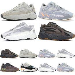 check out 0dbe5 bbdd1 yeezy boost 700 INERTIA 700 Salt Kanye West Wave Runner Statico 3M  Riflettente Mauve Geode Sport Scarpe da corsa Uomo Donna Sport Sneaker  Scarpe taglia ...