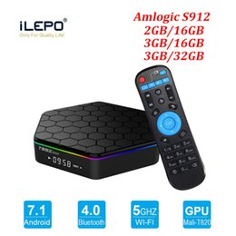 S912 TV Box T95Z Plus Lan 2,4 + 5,8 g Wifi Android 7.1 4K Ultra Smart TV Streaming Cajas T95Z Televisión Media Player desde fabricantes