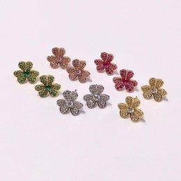 Позолоченные королевы ювелирных изделий онлайн-Queen Lotus 2019 Новый 18 К позолоченные Цветочные Серьги Женская Мода Серьги Ювелирные Изделия Ювелирные Изделия Для Подарка