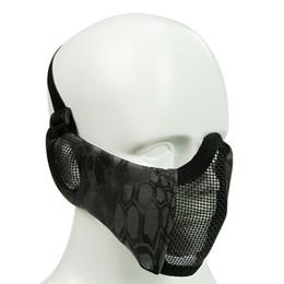 Kulak Koruma Net Mesh Naylon Yarım Maske Açık Nefes Çelik Tel Sürme Maske Bisiklet Bisiklet Yürüyüş Yüz Maskeleri Erkek Kadın nereden
