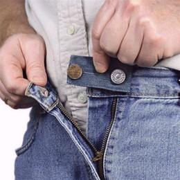 Extensões elásticas on-line-Pano de caubói Elástico Na Cintura Extensor Ajustável Calças Cinto de Fivela de Extensão Cintos Novo Padrão Criativo 4 hb UU