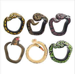 Jewelry Cobra Snake Bracelet Toy Joke Prank Gift Potted Decoration Prop Fool US