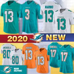 Estela jersey online-3 Josh Rosen Miami Dolphin jerseys 17 Ryan Tannehill 29 Minkah Fitzpatrick 13 Dan Marino 80 Danny Amendola 91 Cameron Wake fútbol jerseys