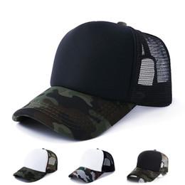 2019 produits militaires Formation militaire Camo Hat Mesh Baseball Cap Hommes Femmes Sports de plein air Snapback Twill Design Aérer Nouveaux Produits 5hx C1 produits militaires pas cher