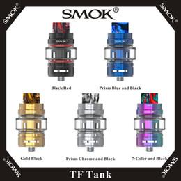 Wholesale SMOK TF Tank мл Слайд Топ Refill Vape Распылитель с Ом BF Mesh Сменные катушки Нижняя система воздушного потока Для Morph Kit оригинал
