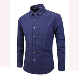 2019 большая воротниковая рубашка с воротником YOUYEDIAN новое поступление мужские рубашки Pure Color с длинным рукавом на пуговицах 4XL большого размера отложным воротником повседневная мужская рубашка дешево большая воротниковая рубашка с воротником
